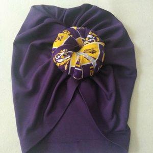 Pre-tied headwrap